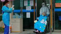 Choi Sang-boon, lansia berusia 104 tahun yang sembuh dari virus corona di Korea Selatan (Pohang Medical Center)