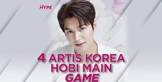 4 Artis Korea ini Hobi dan Jago Main Game