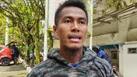 Gelandang sayap Persib Bandung, Ghozali Siregar. (Bola.com/Erwin Snaz)