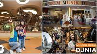 Theme Park atau Taman Hiburan Dino park dan Museum Musik Dunia di Jatim Park. (dok. Instagram @jawatimurpark/https://www.instagram.com/p/BrDCfL0BWAR/Fairuz Fildzah)