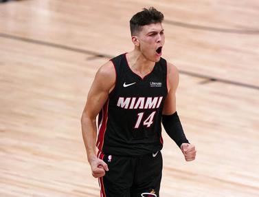 Tyler Herro Mengamuk, Miami Heat Unggul 3-1 atas Boston Celtics