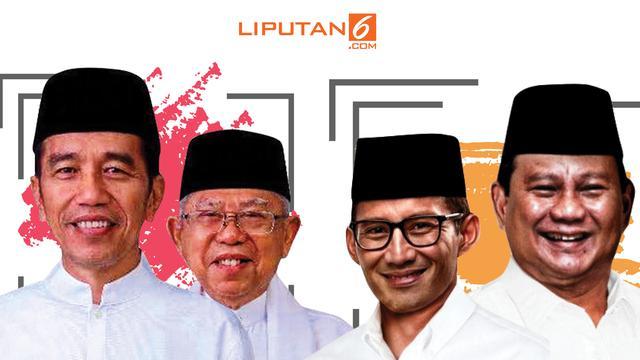 Banner Jokowi Vs Prabowo