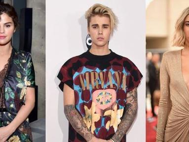 Justin Bieber masih miliki tato Selena Gomez di pergelangan tangan kirinya. Namun sepertinya Hailey Baldwin tak merasa terganggu. (Gossip Cop)
