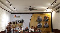 Zuhairi saat diskusi Re-Ide Indonesia di Cikini, Jakarta Pusat, Rabu (12/9/2018). (Merdeka.com/Intan Umbari Prihatin)
