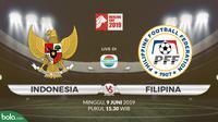 Merlion Cup: Indonesia vs Filipina. (Bola.com/Dody Iryawan)