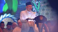 Wapres Ma'ruf Amin menghadiri peringatan hari santri di Surabaya, Jawa Timur. (Dok Setwapres)