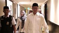 Menteri Agama Lukman Hakim Saifuddin menyayangkan ada aroma politik jemaah haji di Tanah Suci. (www.kemenag.go.id)