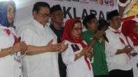 Dewan Pengarah Tim Kampanye Nasional Joko Widodo-Ma'ruf Amin, Agung Laksono. ©2018 Merdeka.com