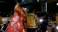 Polisi mengingatkan bahwa aksi sahur on the road yang kerap dilakukan di Jakarta adalah kegiatan yang dilarang.