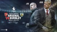 Arsenal vs Burnley (Liputan6.com/Abdillah)