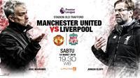 Manchester United vs Liverpool (Liputan6.com/Abdillah)