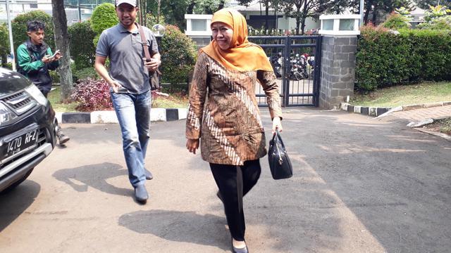 Pasangan Khofifah Indar Parawansa-Emil Elestianto Dardak mendatangi rumah Ketua Umum PAN Zulkifli Hasan