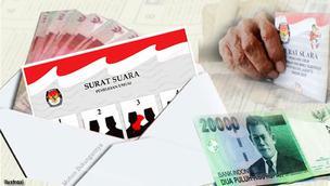 Ilustrasi Politik Uang (Liputan6.com/Andri Wiranuari)