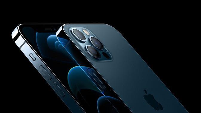 Tampilan iPhone 12 Pro dan iPhone 12 Pro Max yang baru meluncur. (Dok. Apple)
