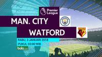 Premier League_Manchester City Vs Watford (Bola.com/Adreanus Titus)