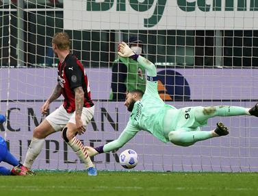 FOTO: AC Milan Dipermalukan Sassuolo di San Siro
