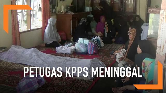 Jumlah Petugas Kelompok Penyelenggara Pemungutan Suara atau KPPS terus bertambah. Hingga hari Rabu (1/5), KPU mencatat jumlah anggota KPPS yang meninggal menjadi 380 orang.