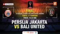 Live straming Persija Vs Bali United (Liputan6.com/Trie yas)