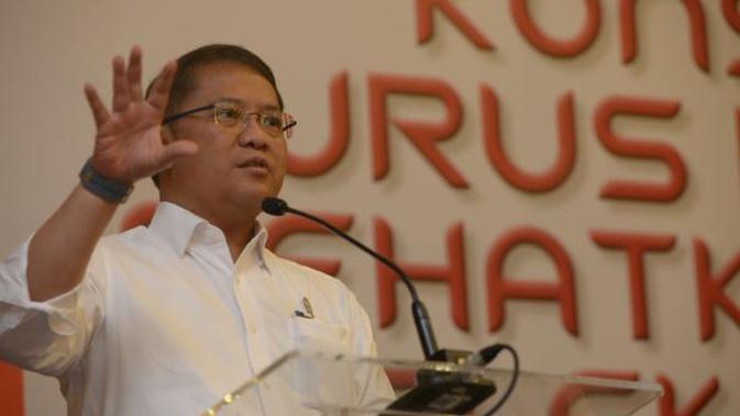 Menkominfo Rudiantara di Seminar Konsolidasi untuk Sehatkan Industri Telekomunikasi. Dok: Indonesia Technology Forum