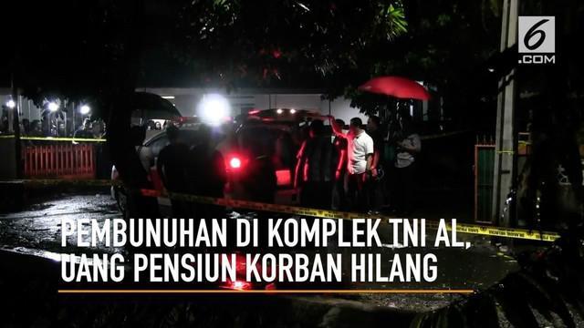 Polres Metro Jakarta Selatan masih mendalami kasus pembunuhan seorang purnawirawan TNI-AL, polisi mendalami informasi hilangnya uang pensiun korban sehari sebelum peristiwa pembunuhan