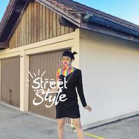 Street style Diana Rikasari. (Instagram/dianarikasari)