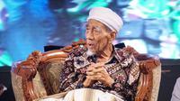 Maemoen Zubair  atau dikenal Mbah Moen wafat di Makkah (Foto: nu.or.id).