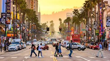 Ilustrasi Los Angeles (iStock)