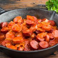 ilustrasi resep sosis saus mentega/copyright Shutterstock