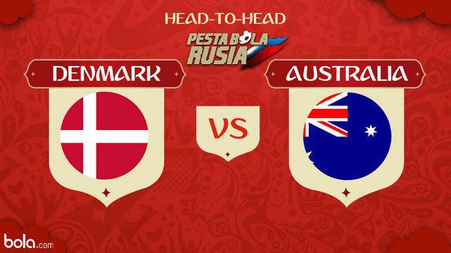 Berita video head-to-head Piala Dunia Rusia 2018: Denmark vs Australia.
