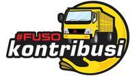 Cukup posting di media sosial dengan tagar #FUSOkontribusi, Anda sudah menyumbang 10 ribu rupiah untuk pendidikan anak-anak supir truk.