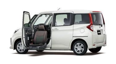 Daihatsu Thor seat lift (Ist)