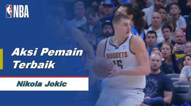 Berita Video Aksi Terbaik Nikola Jokic Saat Denver Nuggets Kalahkan New York Knicks 111-105