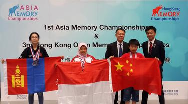 Minim Biaya, Indonesia Juarai Asia Memory Championship