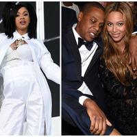 Cardi B, Jay-Z, Beyonce, dan Drake (Foto: AFP / KEVIN WINTER, AFP / Larry Busacca, AFP / Christopher Polk)