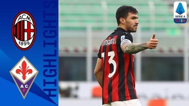 Berita video highlights AC Milan belum terkalahkan di Liga Italia 2020/2021 setelah menaklukkan Fiorentina 2-0 di San Siro pada pekan ke-9, Minggu (29/11/2020) malam hari WIB.