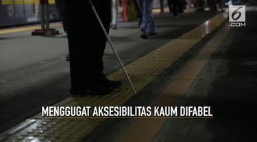 Penyandang disabilitas sering dianggap sebagai warga kelas dua yang hanya perlu dikasihani. Padahal mereka memiliki kemampuan dan potensi untuk mandiri. Yang mereka butuhkan adalah fasilitas yang memudahkan aksesibilitas mereka terhadap semua fasilit...
