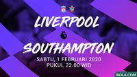 Premier League - Liverpool Vs Southampton (Bola.com/Adreanus Titus)