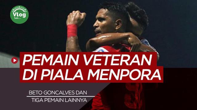 Berita video vlog kali ini membahas tentang deretan pemain veteran yang akan tampil di Piala Menpora 2021, salah satunya ialah Beto Goncalves.