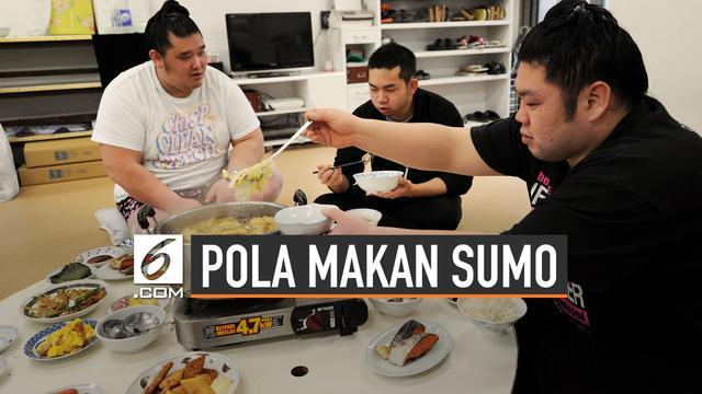 Pola Makan Atlet Gulat Sumo Jepang Hingga 8000 Kalori