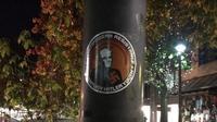 Geger Temuan Stiker Neo Nazi di Canberra (Facebook Augustine Banberry)