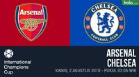 ICC 2018_Arsenal Vs Chelsea (Bola.com/Adreanus Titus)