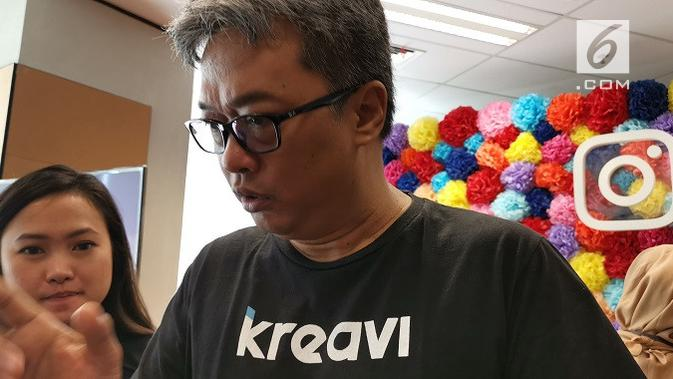 CEO Kreavi Anto Motulz. (Liputan6.com/ Andina Librianty)