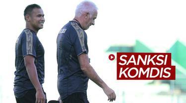 Berita video Arema FC, Persib Bandung, dan beberapa pemain Shopee Liga 1 2020 kena sanksi oleh Komdis PSSI.