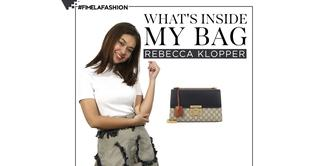 What's In My Bag: Rebecca Klopper
