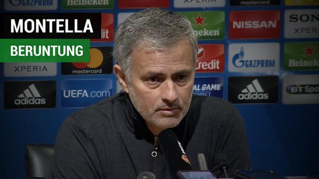 Berita video komentar Manajer Manchester United, Jose Mourinho, yang menyebut Pelatih Sevilla, Vincenzo Montella, dengan memasukkan Wissam Ben Yedder.