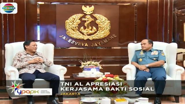 Sementara perwakilan Tim YPAPK Direktur Utama Indosiar yang menemu langsung kepala Staf Angkatan Laut menyatakan komitmennya untuk menambah jumlah daerah yang akan dibantu setiap tahunnya.