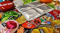 Ilustrasi kondom. (AFP)