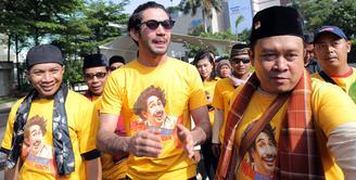 Saat ini, Reza Rahadian sedang sibuk dengan promo film terbarunya, Biang Kerok yang rencananya akan tayang pada tanggal 1 Maret 2018 nanti. (Deki Prayoga/Bintang.com)