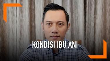 Liputan6.Com berbincang dengan Agus Harimurti Yudhoyono lewat video call terkait kondisi Ani Yudhoyono yang masih menjalani perawatan intensif di Singapura.