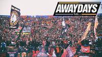 Awaydays The Jakmania (Bola.com/Adreanus Titus)